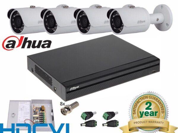 Trọn Bộ 04 Camera – DAHUA – fullHD 1080p