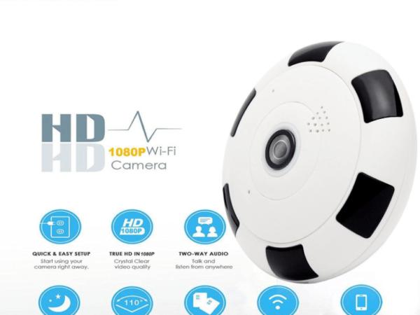 Camera WiFi Ốp Trần – V380 Panaromic Full HD 1080