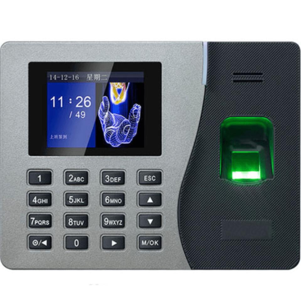 Máy Chấm Công Vân Tay – GIGATA T8 (Thẻ, Password)