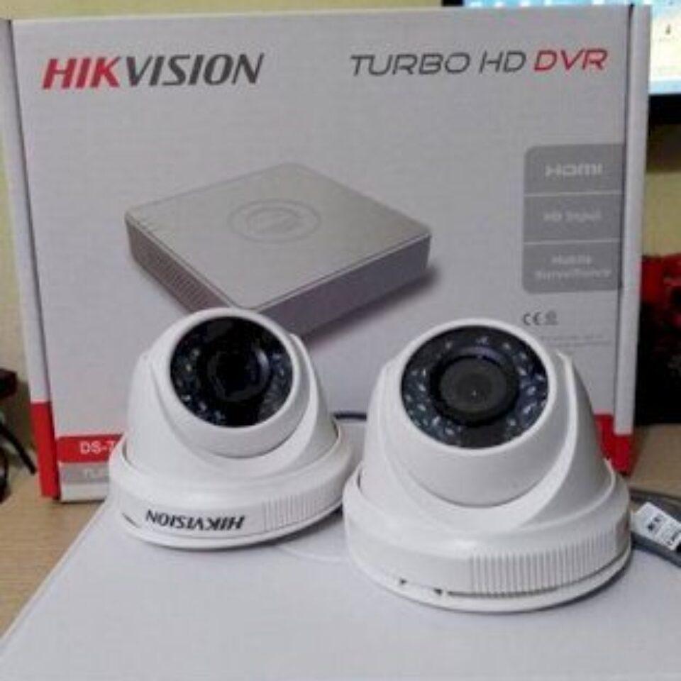 Trọn Bộ 02 Camera – HIKVISION – fullHD 1080p
