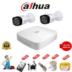 Trọn Bộ 02 Camera – DAHUA – HD 720p