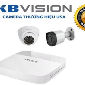 Trọn Bộ 02 Camera – KBVISION – fullHD 1080p